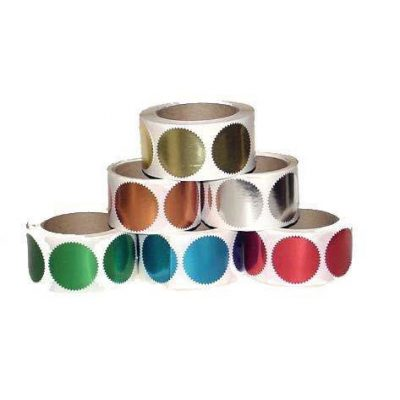 Embossing Sticker Rolls