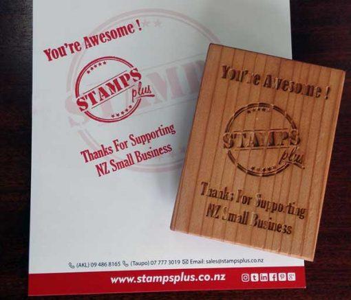 StampsPlus Thanks Stamp