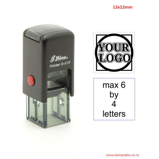 S510 12x12mm Self Inking Rubber Stamp