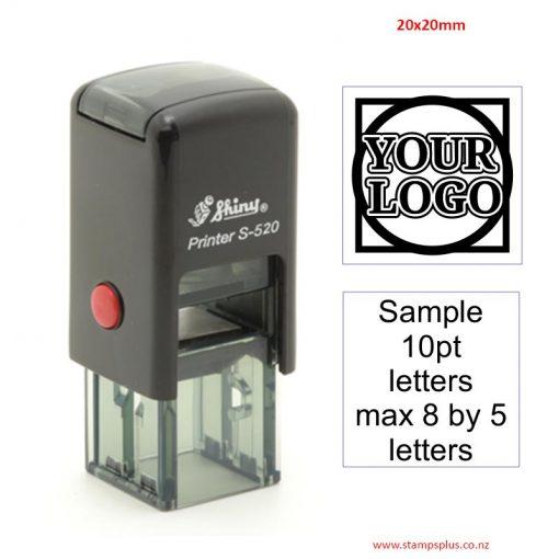 S520 20x20mm Self Inking Rubber Stamp